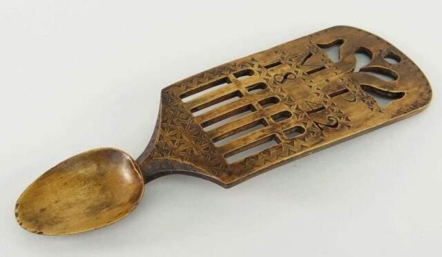 Welsh Love Spoon