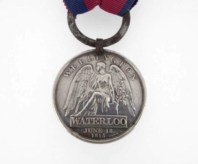 1815 Waterloo Medal