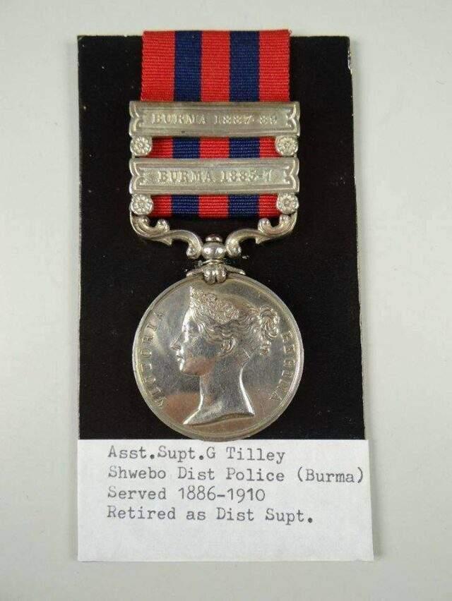 Burma Police Medal