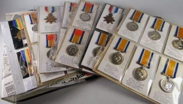 WW1 Stars Medals