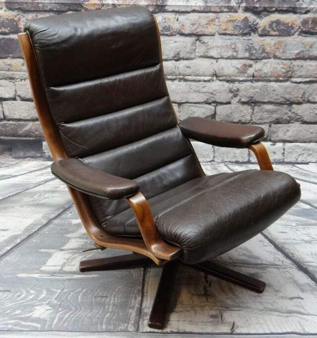 G-Mobel Leather Armchair