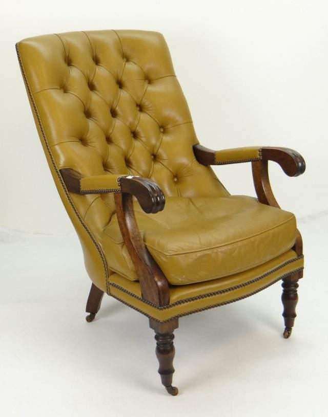 Mahogany Librart Chair