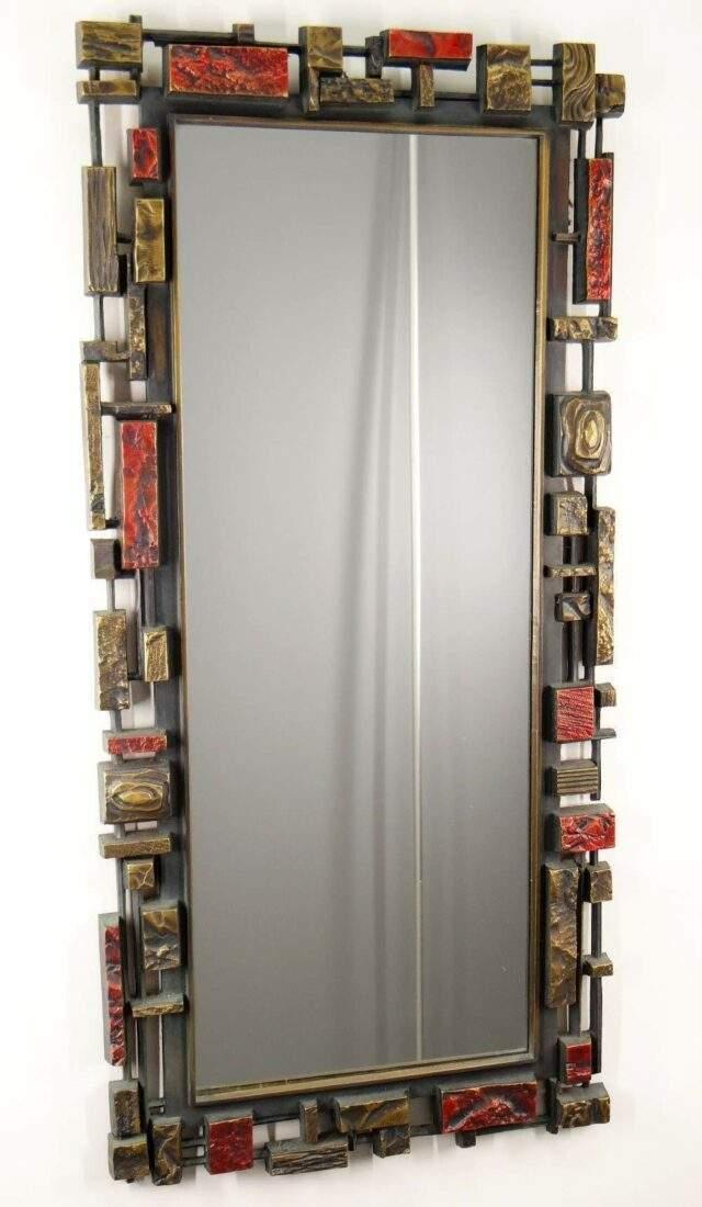 Syroco 1970's Wall Mirror