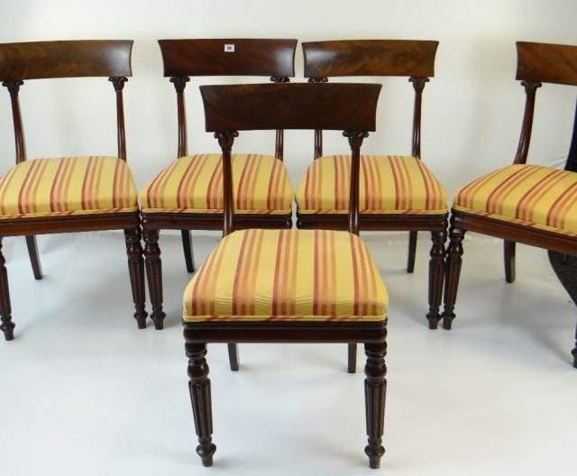 Ten Mahogany Dining Chairs