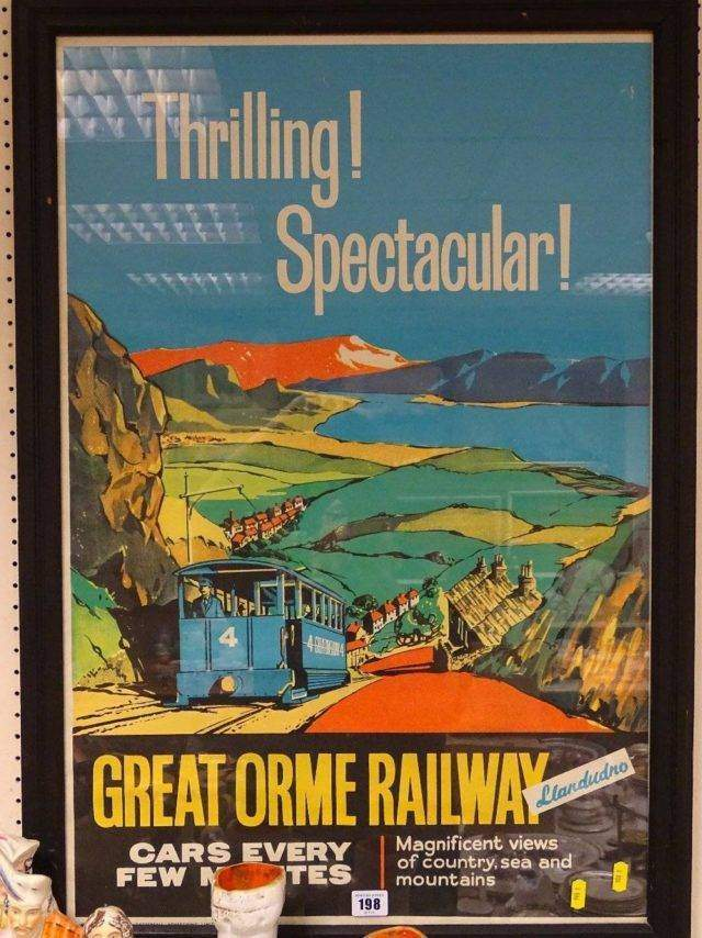 Great Orme Railway Poster