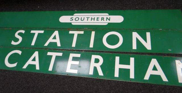 Southern Railways Signs