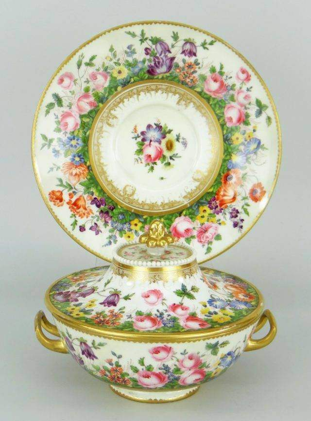 Swansea Porcelain Tureen (restored)
