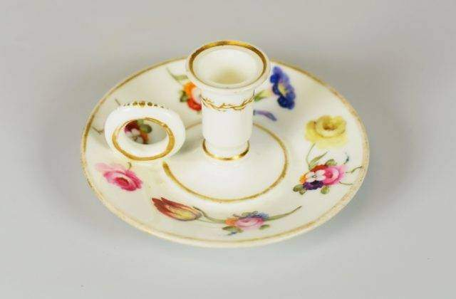 Swansea Porcelain Taperstick