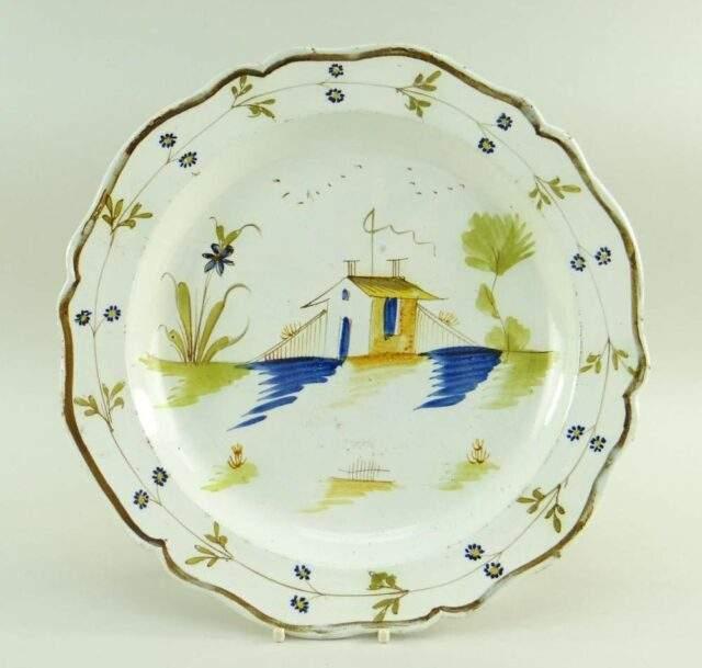 Swansea Pearlware Dish