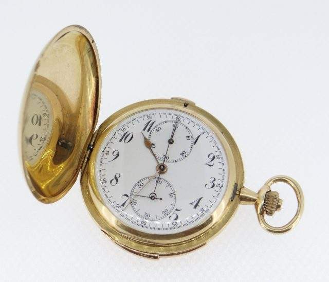 18K Gold Pocket Watch