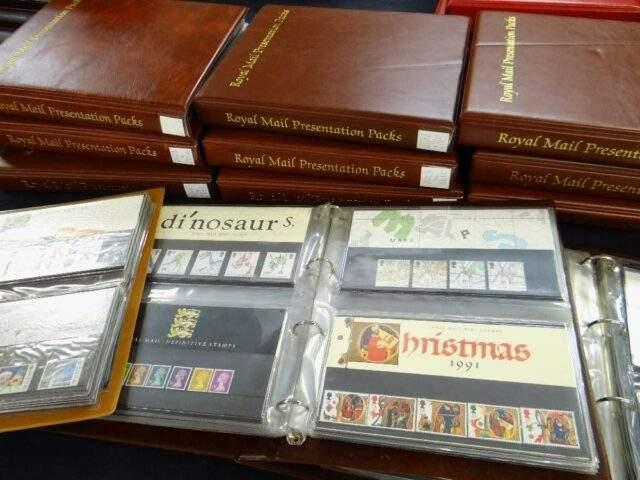 Royal mail Presentation Packs