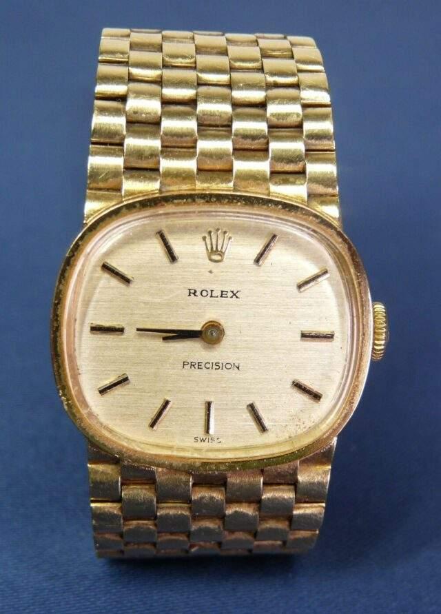 18 CT Rolex Wristwatch