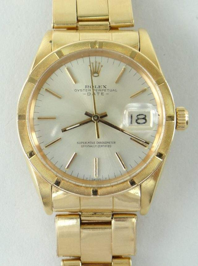 18K Gold Rolex Wristwatch