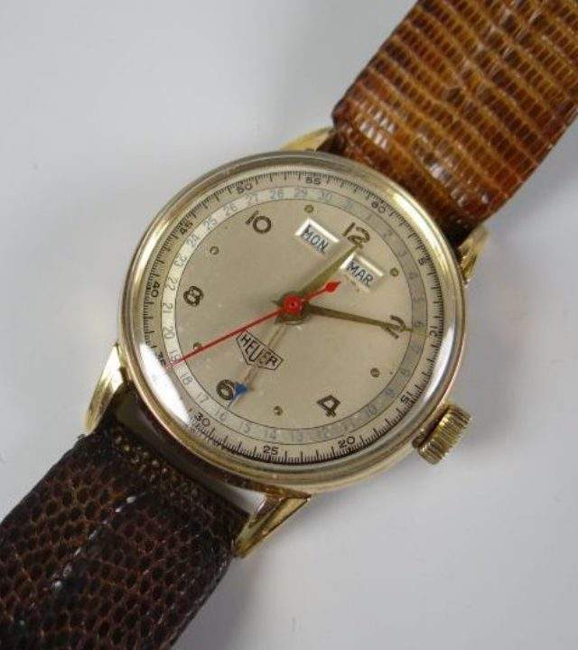 1940's Heuer Wristwatch