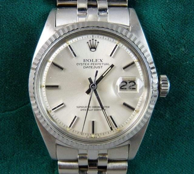 1980s Gentleman's Rolex