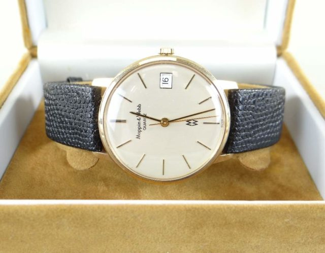 9CT Gold Mappin & Webb Wristwatch