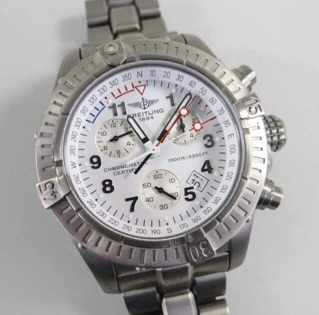 Breitling Chrono Avenger Wrist Watch