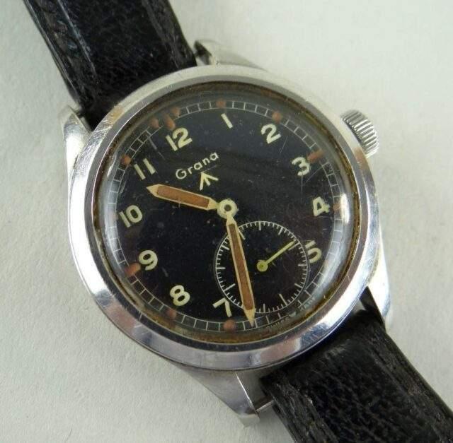 Grana WWII British Military Issue Wristwatch