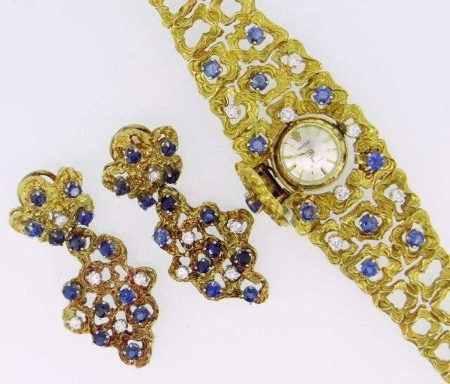 Ladies Rolex Earring Set