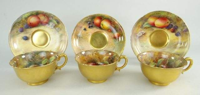 Royal Worcester Cups