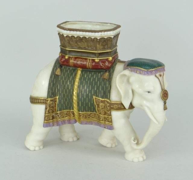 Royal Worcester Elephant