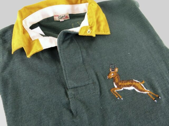 1951 South Africa Rugby Jersey