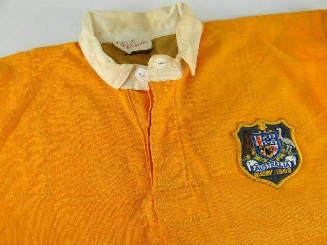 1969 AUSTRALIA RUGBY UNION INTERNATIONAL JERSEY