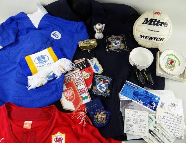 Cardiff City Footbal Club Ephemera