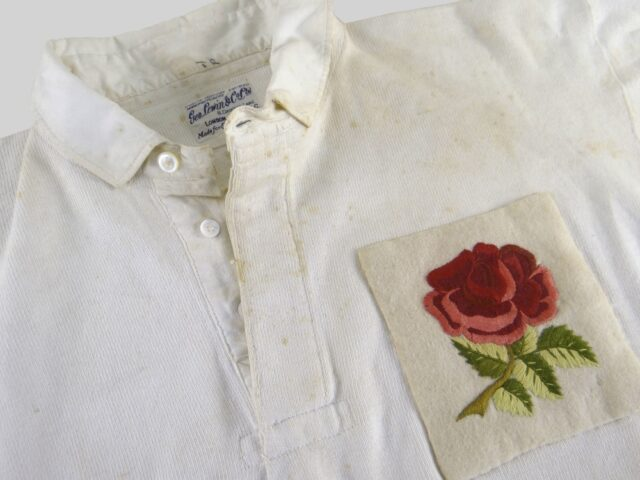 Circa 1930s England Rugby Jersey