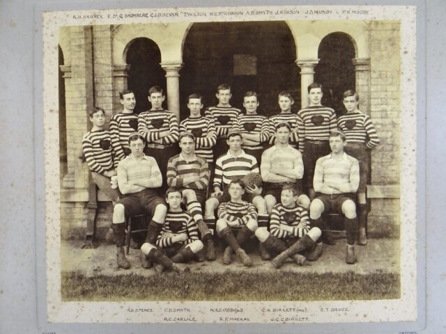 Early 20th Century Rugby Union Photograph Album