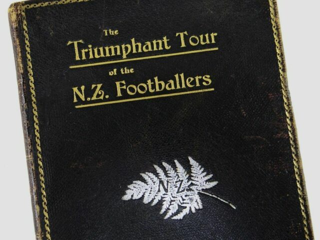 The Triumphant Tour of the N Z Footballers