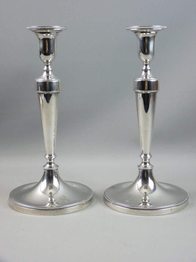 George III Candlesticks