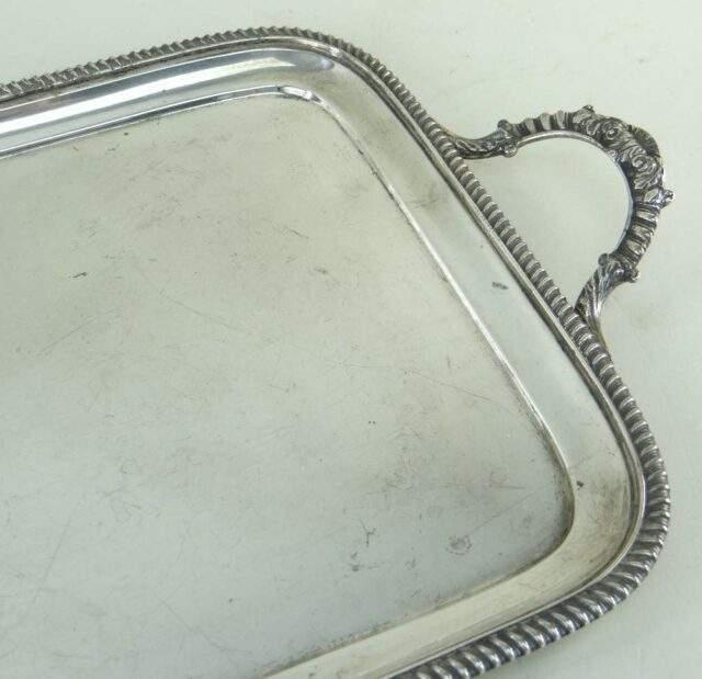 George V Silver Tea Tray