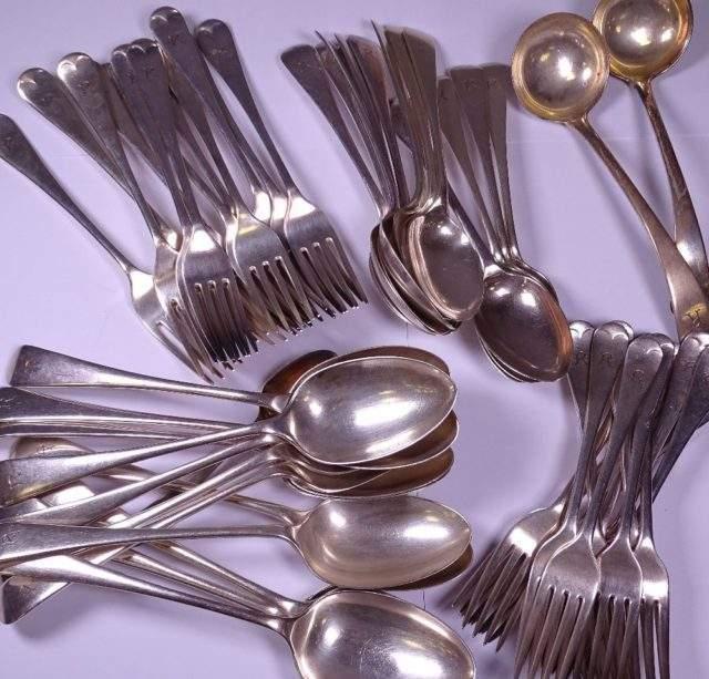 Harlequin Silver Cutlery