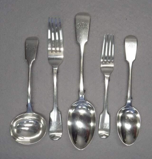 Victorian Silver Flatware