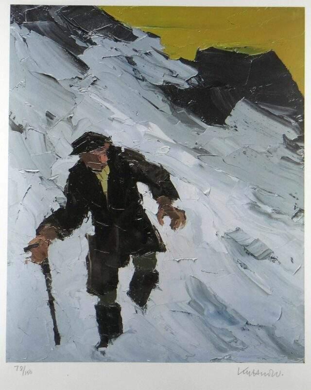 Sir Kyffin Williams RA Colour Print