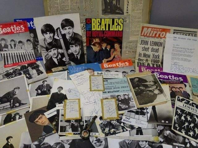 The Beatles Autographs & Ephemera