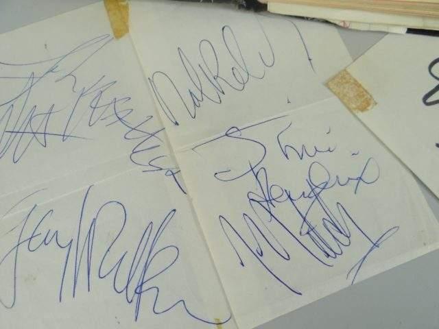 Jimi Hendrix Autograph