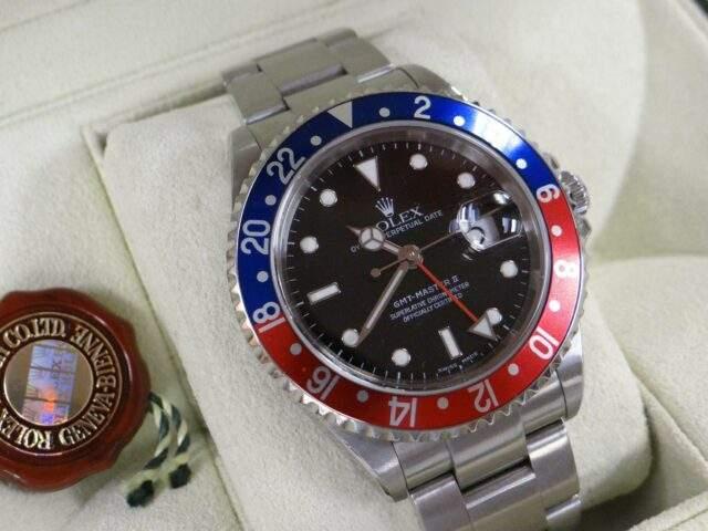 A Rolex GMT Master II