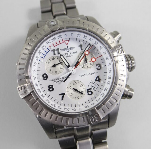 Breitling Chrono Avenger Wrist Watch