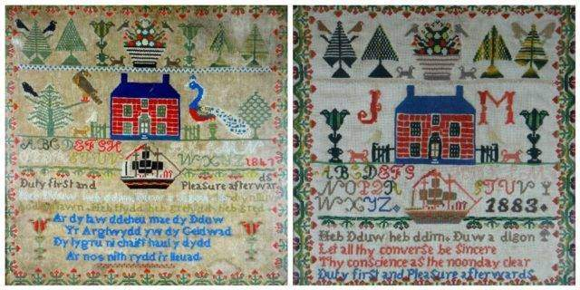 Two Generation Ynys Mon Samplers