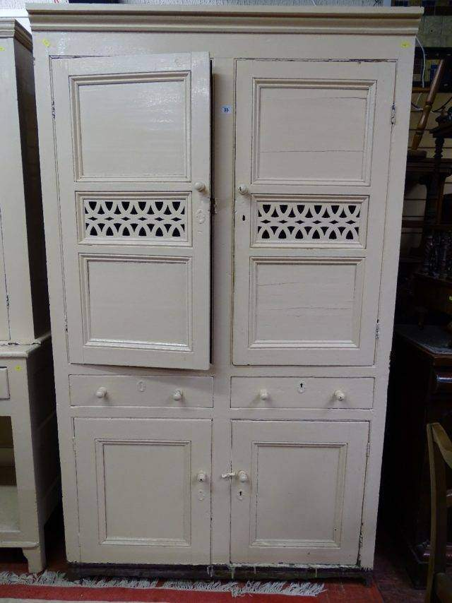 Painted Bread & Cheese Cupboard