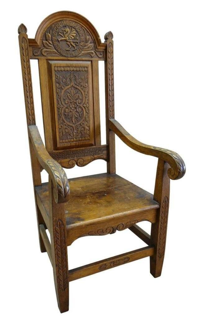 1918 Eisteddfod Chair