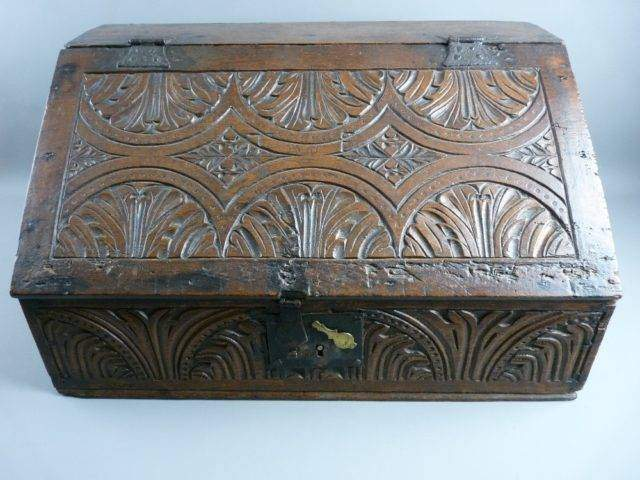 Carved Bible Box