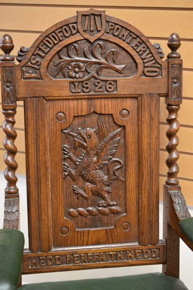 Welsh Eisteddfod Chair