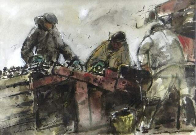 William Selwyn Watercolour