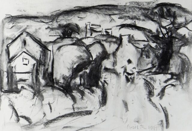 Will Roberts Charcoal Landscape