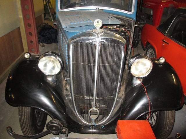 Standard 9 vintage motor car